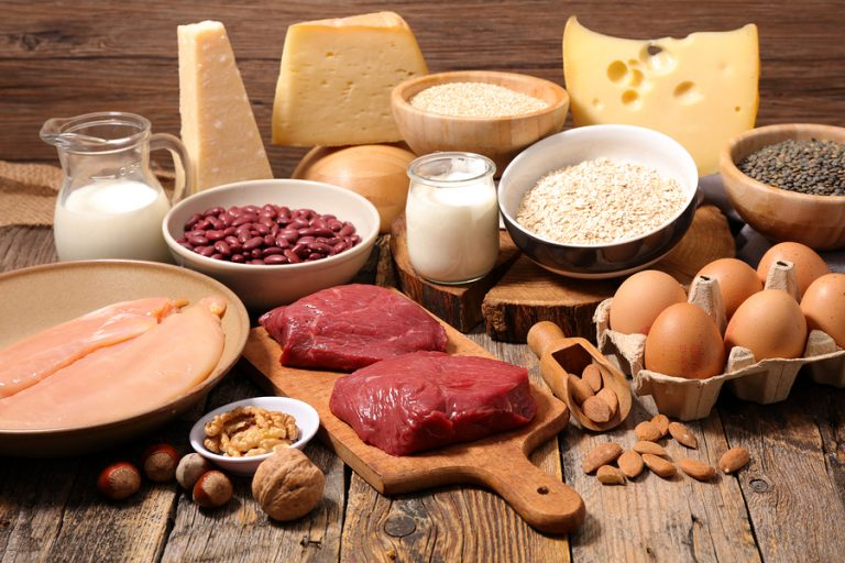 Benefits of protein-rich food